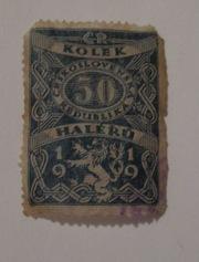 марка почтовая,  Чехословацкая республика