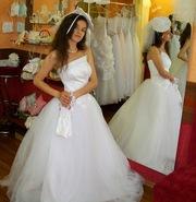 Нежное свадебно платье НЕЖИН