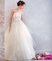 пышное свадебное платье  Papilio