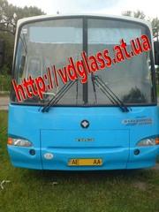 Автостекло триплекс,  лобовое стекло для автобусов ПАЗ