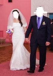 Красивое кружевное свадебное платье со шлейфом,  б/у,  Чернигов,  недорог