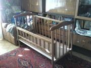 Кроватка детская б/у в хорошем состоянии