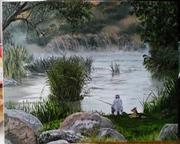 Картины маслом на заказ (пейзажи,  натюрморты...)