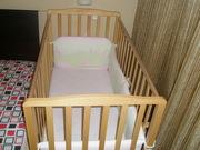 Детская кроватка  BABY ITALIA б/у в отличном состоянии