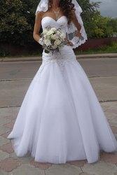 Свадебное платье оригинального фасона