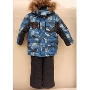 детская  куртка + штаны полукомбинезон