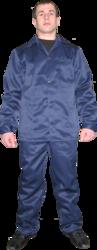 Костюм рабочий (штаны+куртка) синий,  зеленый