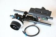 Риг рельсовая система Follow Focus DSLR 15mm