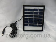 Солнечная панель Solar board 2W-6V+ mob. charger с возможностью заряжа