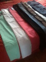 джинсы новые стильные красивые тона