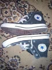 кеды All Star чёрно-белые