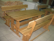 Изделия из дерева: блок-хаус,  половая доска, вагонка,  беседки,  мебель