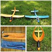 Чудо игрушка самолёт планер метательный акробат