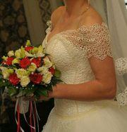 Свадебное платье,  цвет айвори,  размер 46М