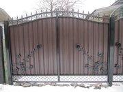 Железные ворота,  гаражные и дворовые