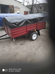 Легковой прицеп Днепр-200 с колёсами! Доставка по Украине