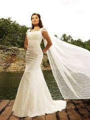 Сногсшибательное свадебное платье